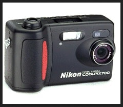 Nikon Coolpix 700 Manual User Guide and Product Specification