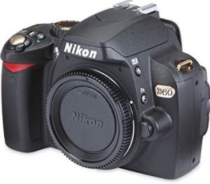 Nikon D60 Manual - camera front side