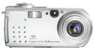 Sony DSC-P5 Manual - camera front side