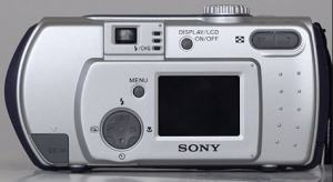 Sony DSC-P50 Manual - rear side