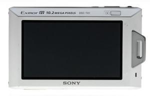 Sony DSC TX1 Manual - camera rear side