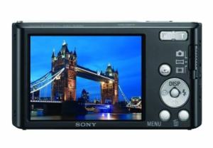 Sony DSC W-830 Manual - camera rear side