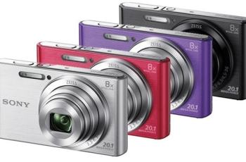 Sony DSC W-830 Manual - camera variants