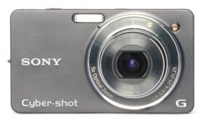 Sony DSC W-X1 Manual - camera front face