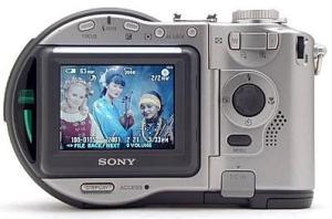 Sony MVC-CD300 Manual - camera rear side