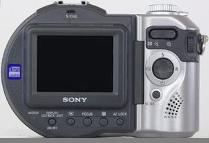 Sony MVC-CD400 Manual - camera rear side