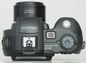Sony MVC-CD400 Manual - camera top side