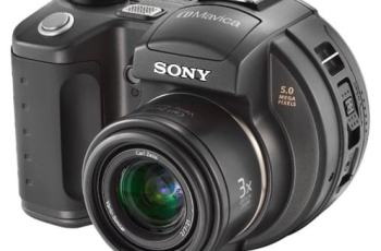 Sony MVC-CD500 Manual - camera front face
