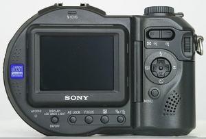 Sony MVC-CD500 Manual - camera rear side