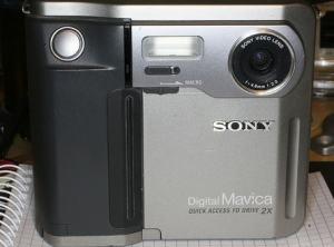 Sony MVC-FD51 Manual - Camera front face