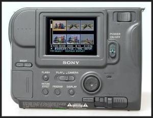 Sony MVC-FD75 Manual - rear side