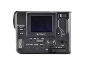Sony MVC-FD81 Manual - camera rear side
