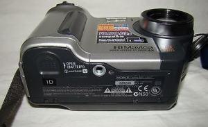 Sony MVC-FD87 Manual - camera side