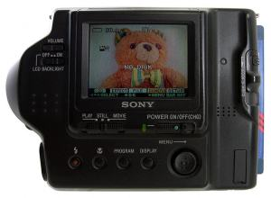Sony MVC-FD90 Manual - camera rear side