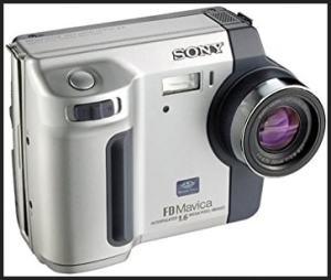 Sony MVC-FD92 Manual - front side