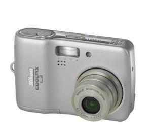 Nikon CoolPix L3 Manual - camera front face