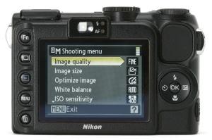 Nikon CoolPix P5100 Manual - camera rear side