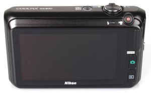 Nikon CoolPix S6400 Manual - camera rear side