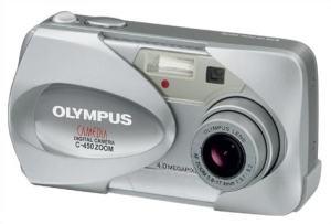 Olympus C-450Z Manual - camera front face