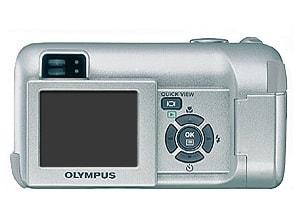 Olympus C-450Z Manual - camera rear side