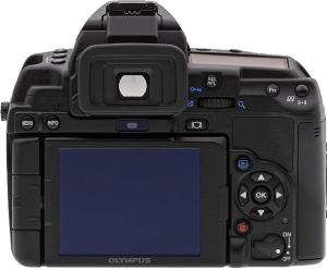 Olympus E-5 Manual - camera rear side