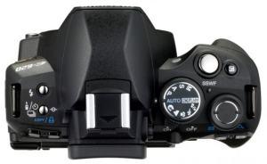 Olympus E-620 Manual - camera top side