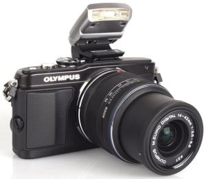 Olympus E-PL5 Manual - camera front face