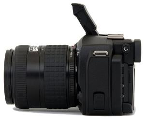 Olympus EVOLT E-300 Manual - camera side