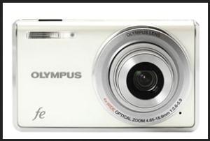 Olympus FE-4010 Manual - camera front siden