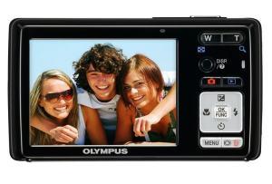 Olympus FE-5000 Manual - rear side