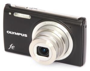 Olympus FE-5050 Manual - camera front face