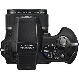 Olympus SP-565 UZ Manual - camera top plate
