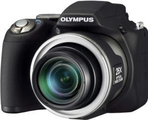 Olympus SP-590UZ Manual - camera front face