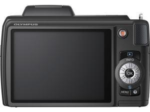 Olympus SP-610UZ Manual - camera rear side