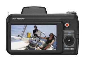 Olympus SP-800UZ Manual - rear side