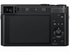 Panasonic ZS200 Specification; rear side