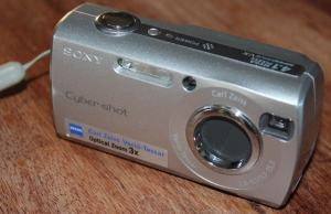 Sony DSC S40 Manual User Guide and Product Specification