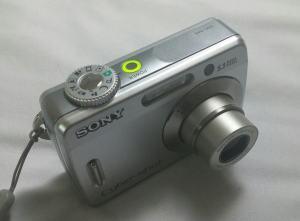 Sony DSC S45 Manual - camera top side