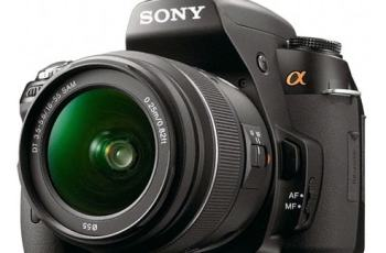 Sony DSLR-A500L Manual User Guide and Product Specification