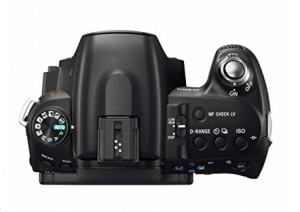 Sony DSLR-A500L Manual - camera top plate