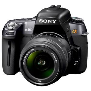 Sony DSLR A550L Manual User Guide and Product Specification