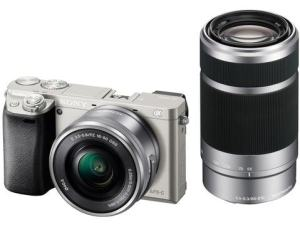 Sony ILCE A6000Y Manual - camera with lens
