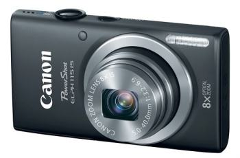 Canon PowerShot ELPH 115 IS Manual User Guide and Camera Specification