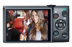 Canon PowerShot ELPH 115 IS Manual - camera rear side