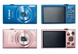 Canon PowerShot ELPH 115 IS Manual - camera variants