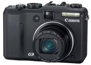 Canon PowerShot G9 Manual - camera front side