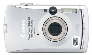 Canon PowerShot SD430 Manual User Guide and Product Specification