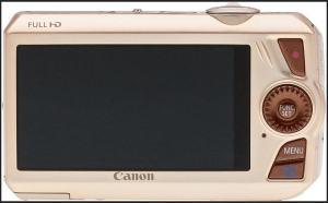 Canon PowerShot SD4500 IS Manual - camera rear side