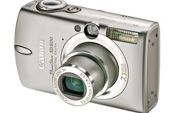 Canon PowerShot SD500 Manual User Guide and Product Specification