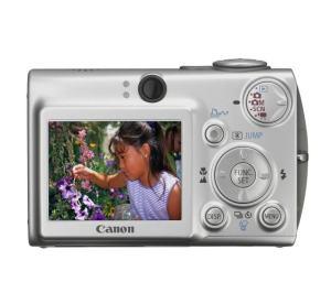 Canon PowerShot SD500 Manual - camera rear side